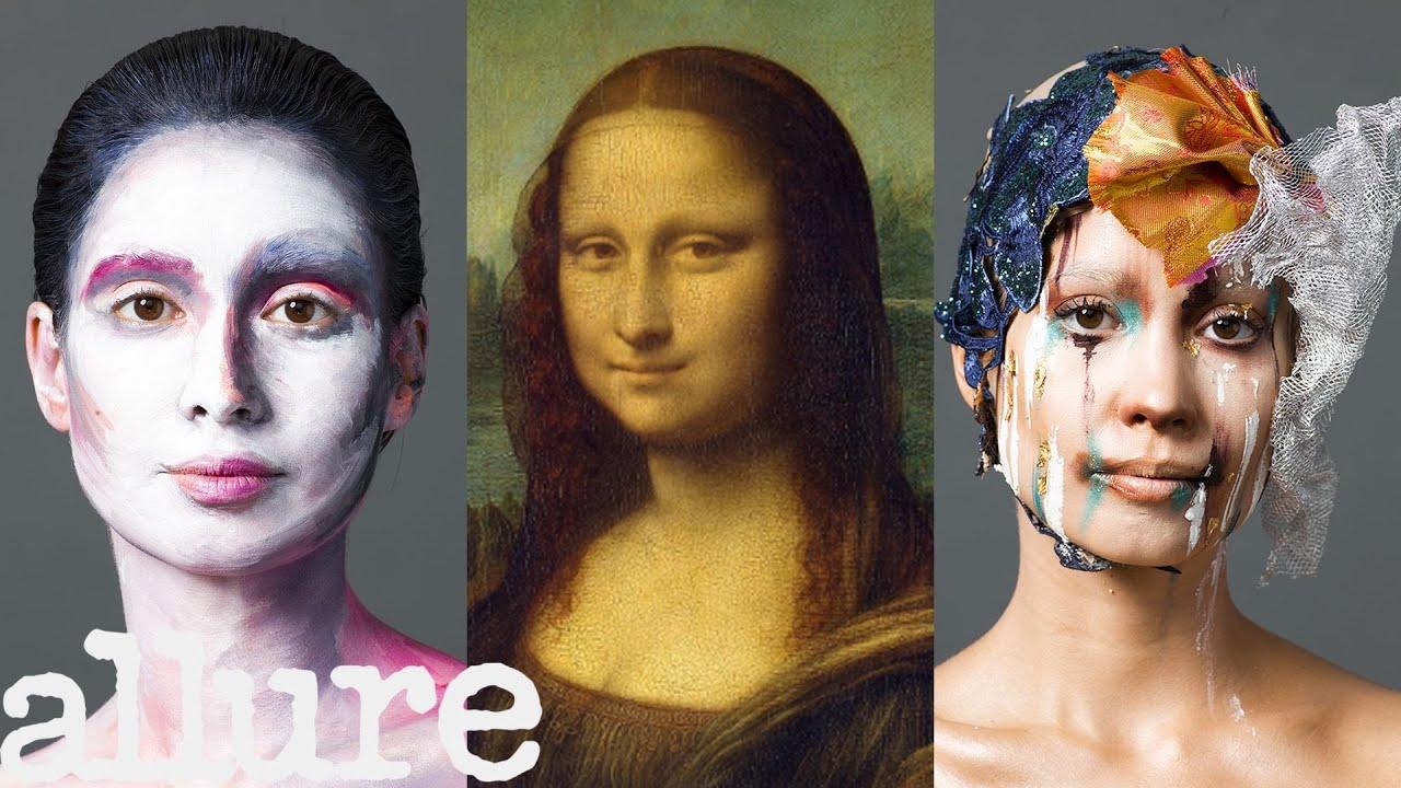 3 Makeup Artists Turn a Model Into The Mona Lisa | Triple Take | Allure