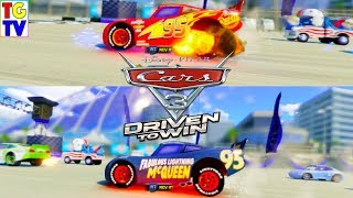 Cars 3 Driven to Win Gameplay Lightning McQueen and Fabulous McQueen Custom Race Cup