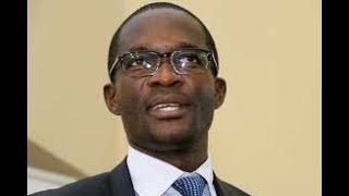 IT IS WELL: Ezra Chiloba leads mourners in song at Chris Msando