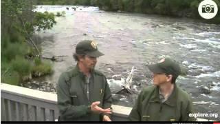 Ranger Roy and Ranger Mike at Katmai National Park on 7/24/14
