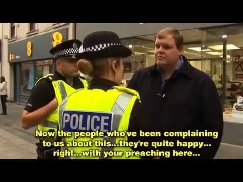 Arrested for Preaching in Perth, Scotland