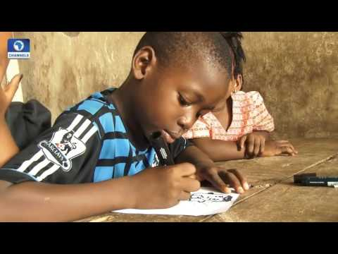 Art House: Contemporary Artist Polly Alakija Tutors Children On Expression Through Art