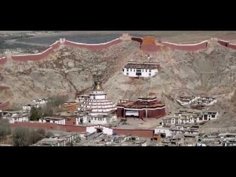 Gyantse Kumbum in Gyangze, Xigaze, Tibet, China