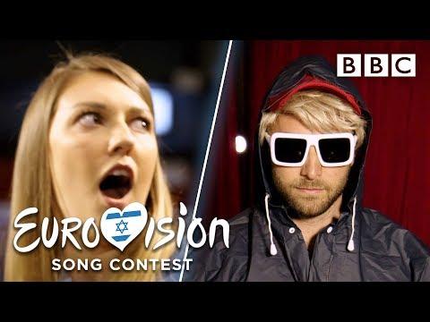 Undercover MÃ¥ns surprises Eurovision fans - BBC
