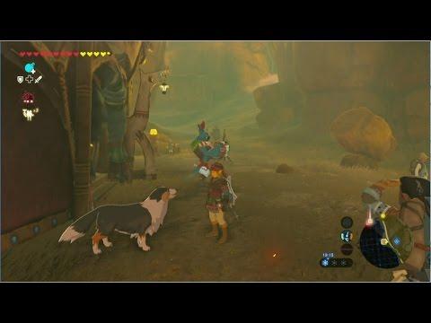 The Legend of Zelda: BotW - Astuce nourrir les chiens