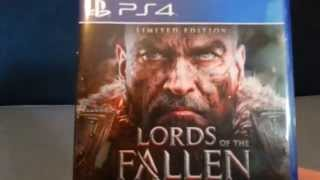 Lords of the Fallen Unboxing PS4