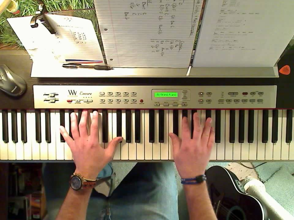 Heart Alone Piano Cover Wchords Youtube