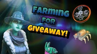 Farming Summer Tickets + Resources for *NEW* GIVEAWAY! in FORTNITE (Save the World)