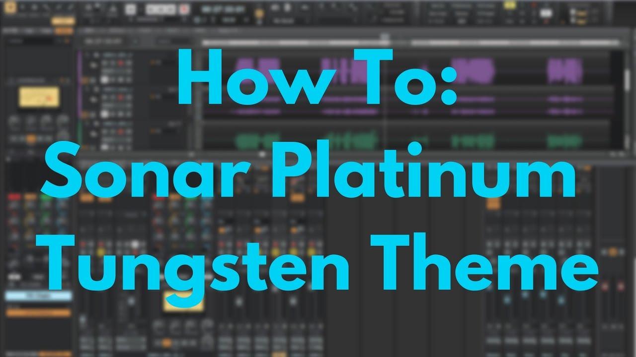 sonar platinum themes