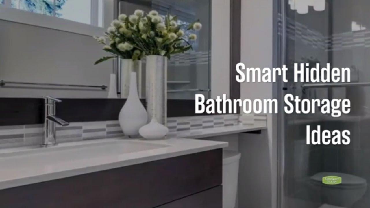 16 Smart Hidden Bathroom Storage Ideas Extra Space Storage