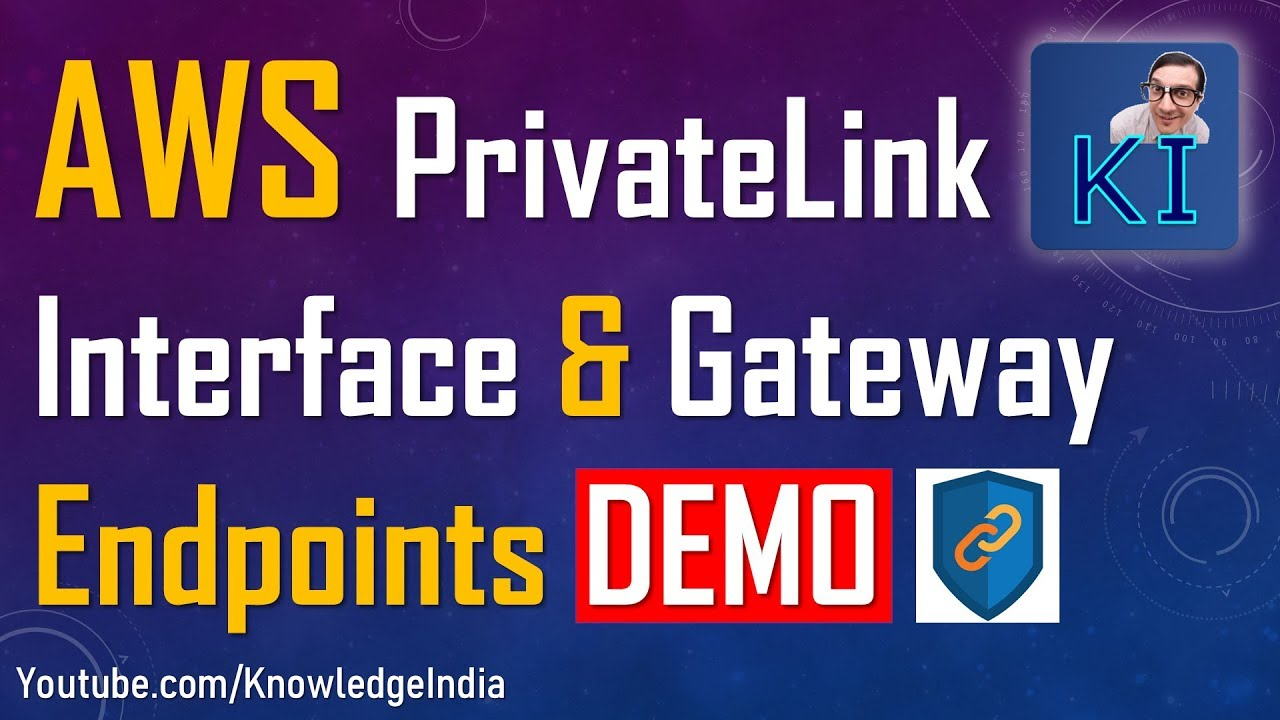 AWS PrivateLink | Interface & Gateway Endpoints DEMO | Using NLB with  PrivateLink