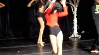 Teyana Taylor dancing to Single Ladies