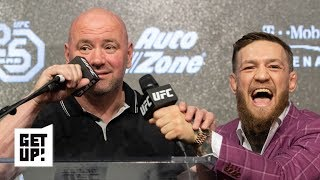 Dana White is hiding how upset he is over Conor McGregor's retirement – Ariel Helwani   Get Up!