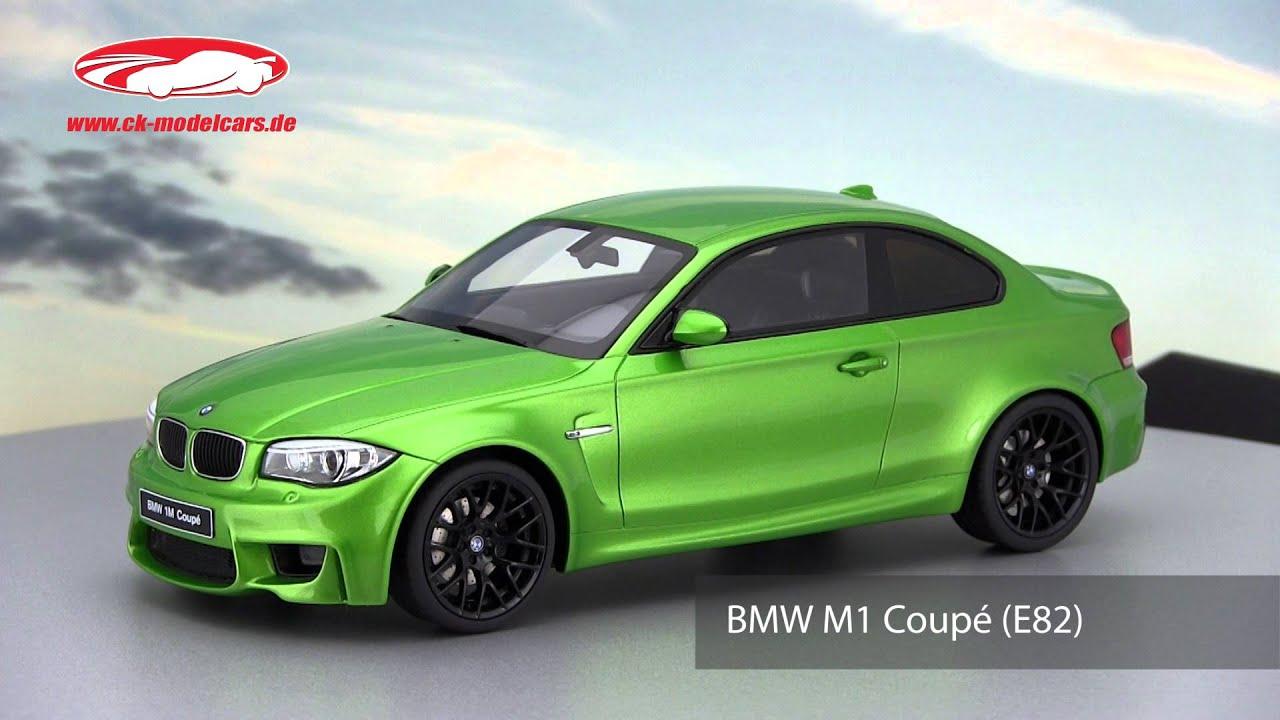 ck modelcars video bmw m1 coupe e82 mamba green gt spirit. Black Bedroom Furniture Sets. Home Design Ideas