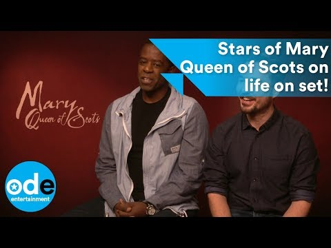 Martin Compston & Adrian Lester on Mary Queen of Scots