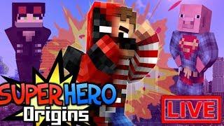 Super Hero Origins LIVE #20.1 (Modded Minecraft Roleplay)