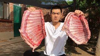 【食味阿远】阿远220块买了七斤羊排,做了道清水煮羊排吃,小舅子说味儿不赖   Shi Wei A Yuan