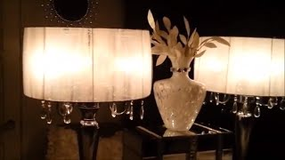 Glamarous Sheer Lamp Shade DIY | Save Big!!!