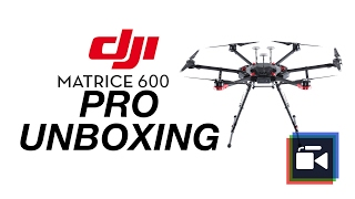 DJI M600 Pro - Professional Drone Unboxing and First Impressions