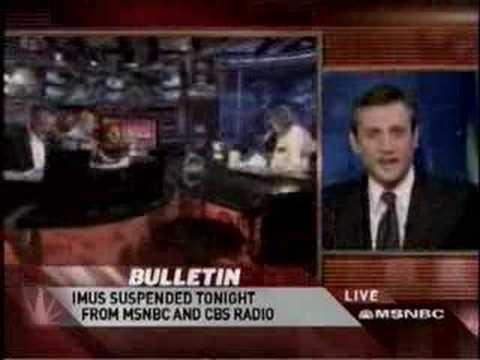 MSNBC analyzes Fox's reaction to Imus slur