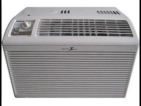 Small Window Air Conditioner Repair 5000 Btu Zenith Youtube