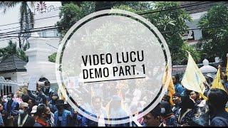 Kumpulan Video Lucu Ngakak Demo DPR 2020