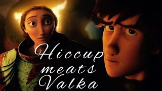 DreamWorks How To Trąin Your Dragon 2 - Hiccup meets Valka