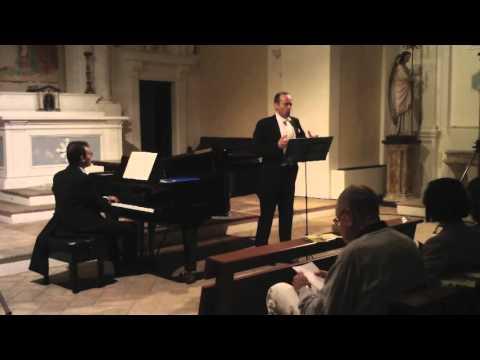 Seven Sonnets of Michelangelo - Britten. Mark Milhofer (tenor) Filippo Farinelli (piano)