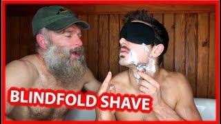 Baixar Shaving Beard with a Blindfold On - Sculpting a Handlebar Mustache!