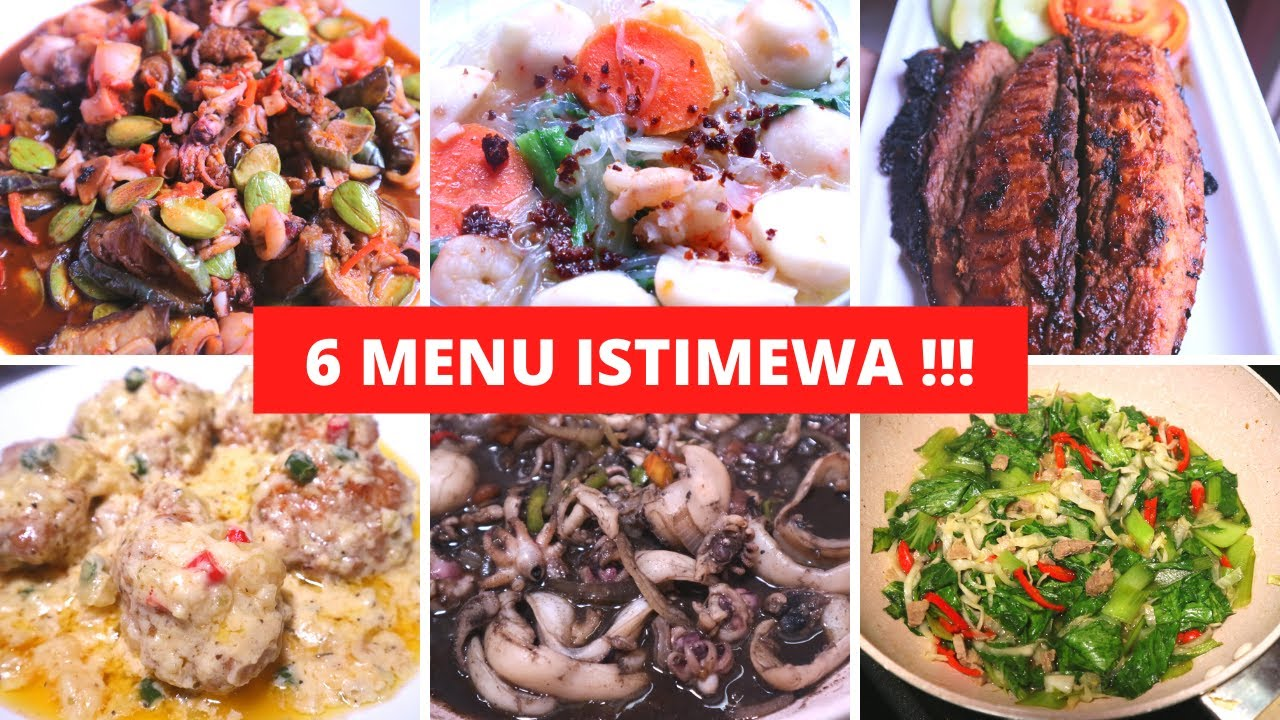 6 MENU IDE MASAKAN SEHARI HARI PART 4 Resep Masakan Indonesia Sehari Hari Sederhana Dan Praktis