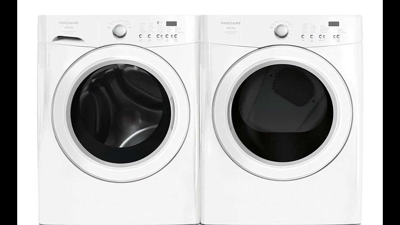 Frigidaire Affinity Clic White Stackable Front Load Washer Energy Star Review Overview