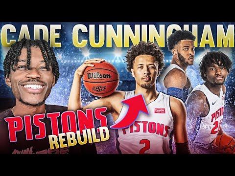 CADE CUNNINGHAM DETROIT PISTONS REBUILDING CHALLENGE IN NBA 2K21
