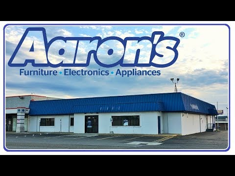 Abandoned Aaron's Rent To Own Furniture Electronics ...