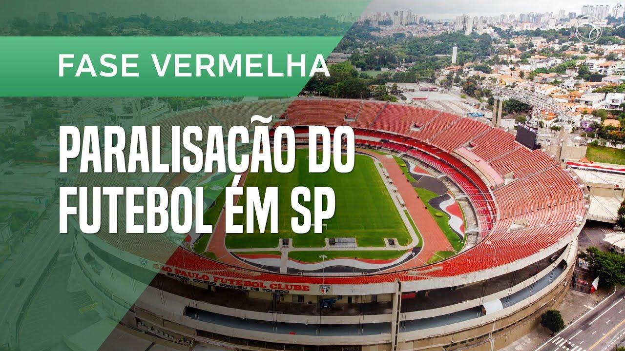 Futebol paralisado em São Paulo: jogos param a partir de 15 de março