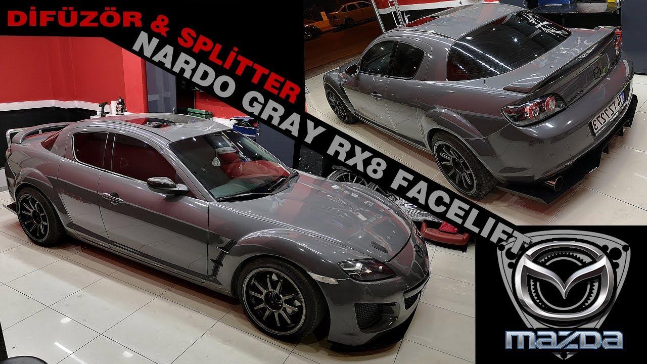 Nardo Mazda Rx8 R3 Facelift Difüzör Splitter Projesi Youtube