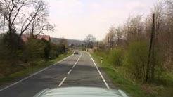"""Fahrt über den Nienstedter Pass (Deister) in der """"Street View""""-Perspektive"""