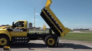 Ford F750 Tonka dump truck at Further with Ford