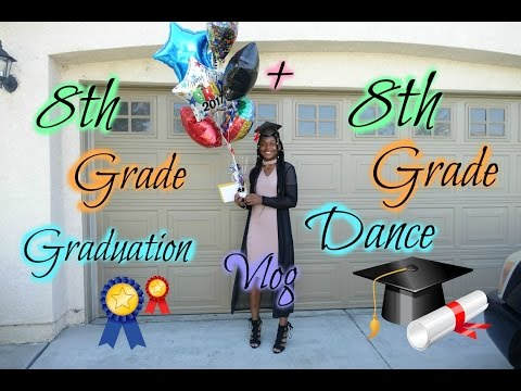 2017 Graduation - 8th Grade Dance | Vlog