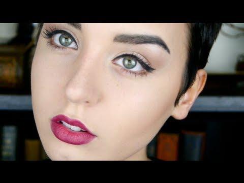 Audrey Hepburn Inspired Everyday Makeup Tutorial! | Augusta ...
