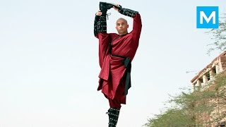 Fight Art - Tim Man - Martial Arts Tricks Master | Muscle Madness