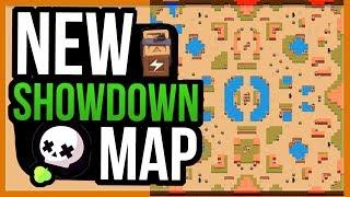 NEW Showdown Map! Thousand Lakes! Community Made Map [Brawl Stars]