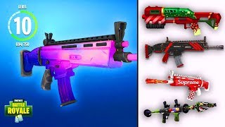 WEAPON SKINS Coming to Fortnite! *SEASON 6* (PETS, CUSTOMISE SKINS)