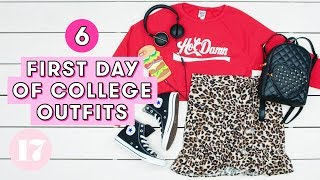 6 First Day of College Outfit Ideas | Style Lab
