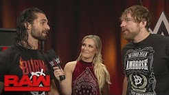 Dean Ambrose refuses to trust Seth Rollins: Raw, July 31, 2017