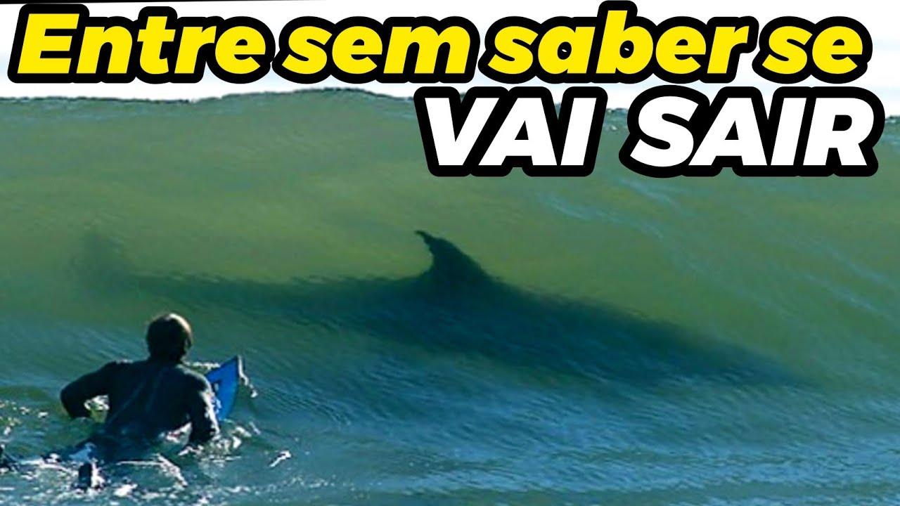 Teste a SORTE e tente SAIR INTEIRO desta praia no Brasil