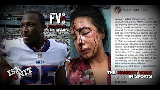 Lesean Mccoy accused of beating his GF! He's a monster if its true