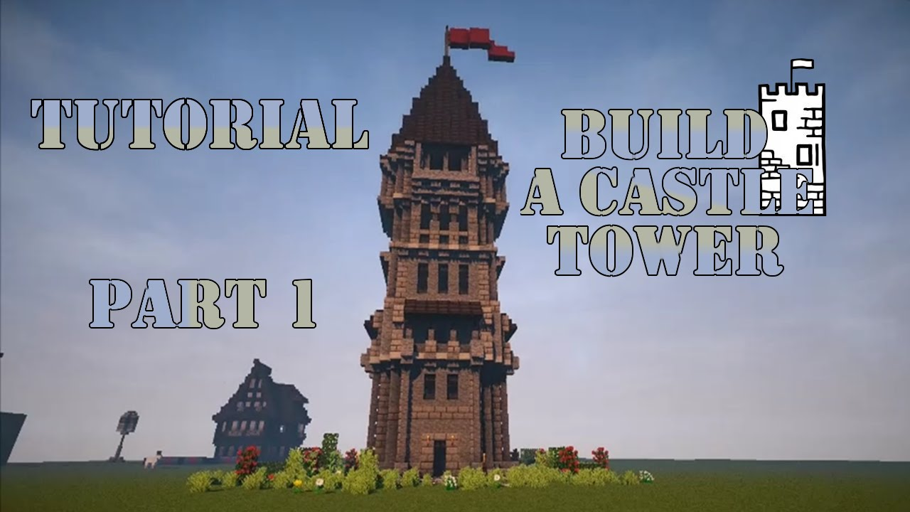 How To Build A Medieval Castle In Minecraft Tutorial