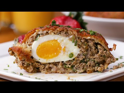 Hash Brown Scotch Eggs