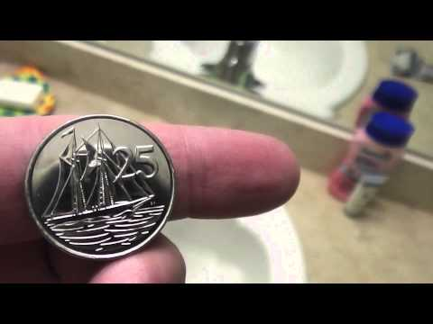 Cayman Islands 25 Cent Coin Review