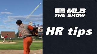 MLB 15 The Show - Hitting HR Tips